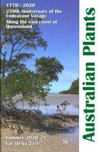 Cover of Australian Plants Summer 2020/21