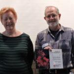 Lloyd Hedges with Pam Pitkeathly Lloyd Hedges with Pam Pitkeathly, Vice President of Menai Group